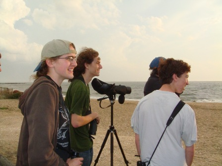 Hope and Jacob-other young birders on opposing team
