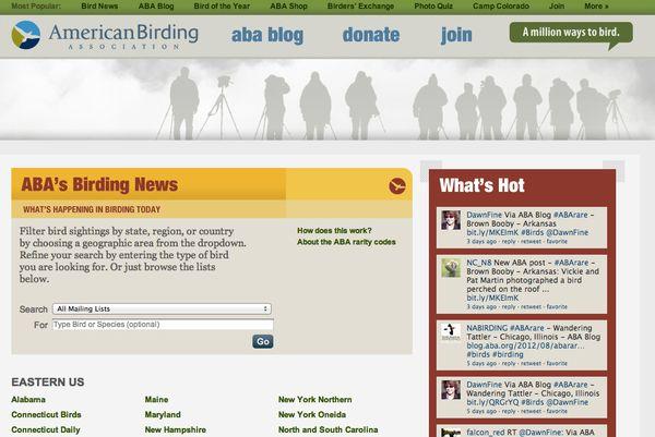 Birding News banner